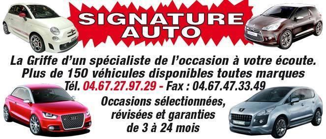 signature auto vente v hicules occasion professionnel auto moto fabr gues 34. Black Bedroom Furniture Sets. Home Design Ideas