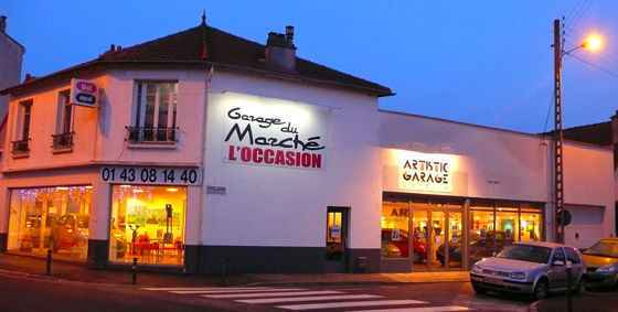 Garage du marche l 39 occasion vente v hicules occasion for Garage ad neuilly sur marne