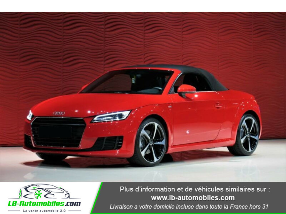 TT 1.8 TFSI 180 S tronic 7 S-Line 2016 occasion 31850 Beaupuy