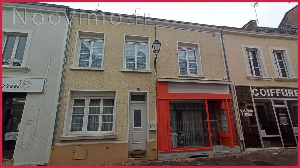 Vente Maison Idéal investisseur et/ou commerce, centre de la commune Loue