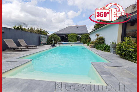 Maison de 2003 196 m2 - 5 chambres + Annexe de 60 m2 590000 Nort-sur-Erdre (44390)