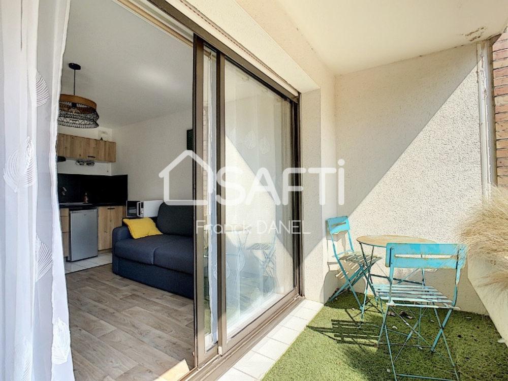 Vente Appartement studio en rez de chaussée avec place de stationnement Berck