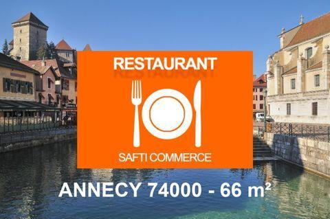 Annecy , restaurant 66 m² + terrasse, faible loyer 250000 74000 Annecy