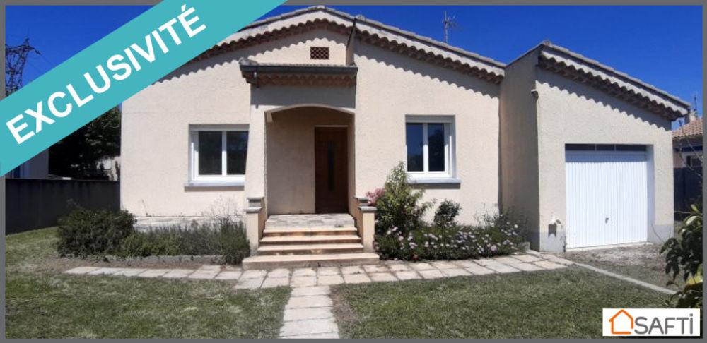 Vente Maison Maison de plain pied 90m2 avec garage sur la commune de Cavaillon Cavaillon