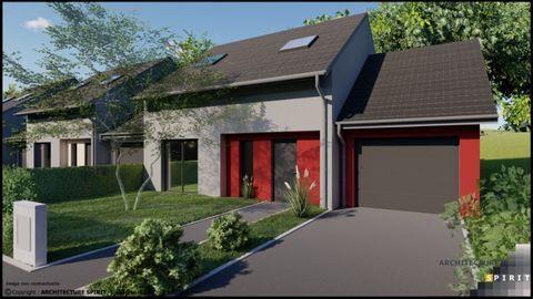 Réservez votre maison dans ce beau programme neuf à Colombier Fontaine 206900 Colombier-Fontaine (25260)