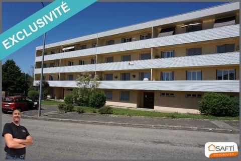 Bel appartement T3 rénové, balcon, cave. 169000 Villars-les-Dombes (01330)