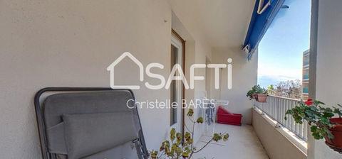 Appartement T5 - 4 chambres- séjour-cuisine semi-ouverte- grand balcon- cave 278000 Hyères (83400)
