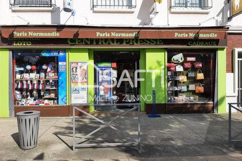 PRESSE LIBRAIRIE PAPETERIE FDJ face à la place de la mairie d'une commune limitrophe de Rouen . 58888 76530 Grand-couronne