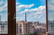 Grand appartement vue dégagée sur la Tour Eiffel ! 1115000 Paris 14