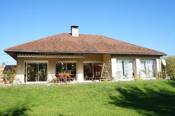 Annonce vente maison geneuille 25870 116 m 230 000 for Maison plain pied sur sous sol