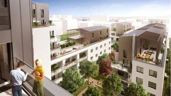 annonce vente appartement lyon 8 66 m 341 000 992739471424. Black Bedroom Furniture Sets. Home Design Ideas