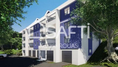 Fort de France, appartement T2, résidence sécurisée 206200 Martinique (97200)