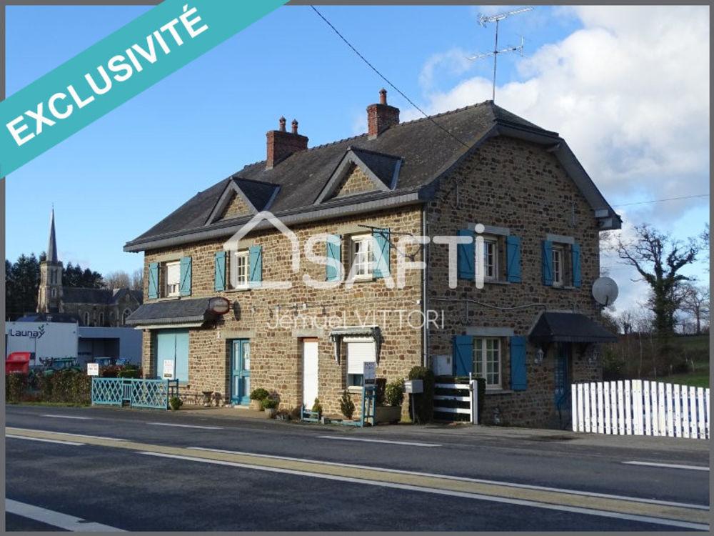Vente Maison Ancien bar avec habitation à rénover, terrain 4531m² Ernee