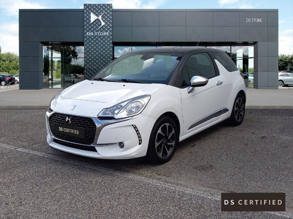 DS3 BlueHDi 100ch Connected Chic S&S 2018 occasion 38300 Bourgoin-Jallieu