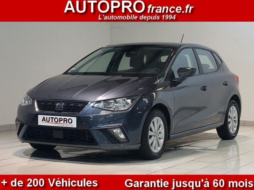 Ibiza 1.6 TDI 80ch Start/Stop Style Business Euro6d-T 2018 occasion 77400 Lagny-sur-Marne