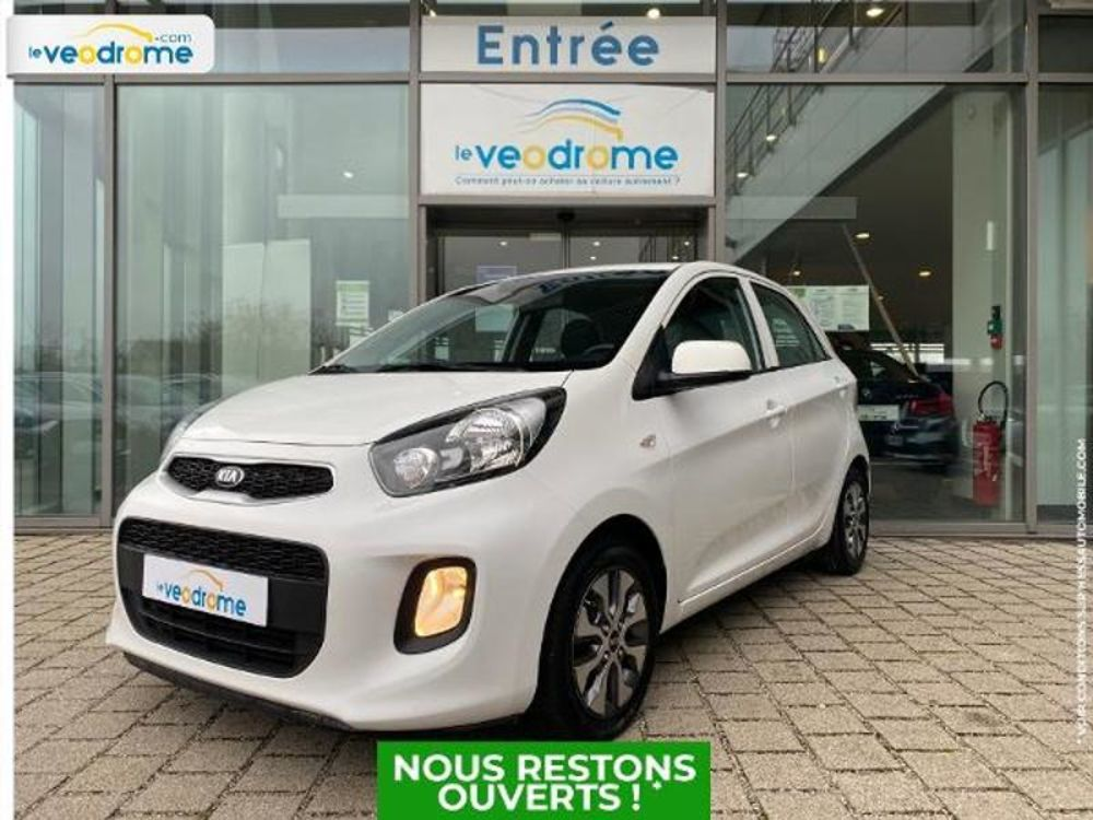 Picanto 1.0 66ch Active 5p Kit mains-libres Bluetooth 2016 occasion 67800 Bischheim