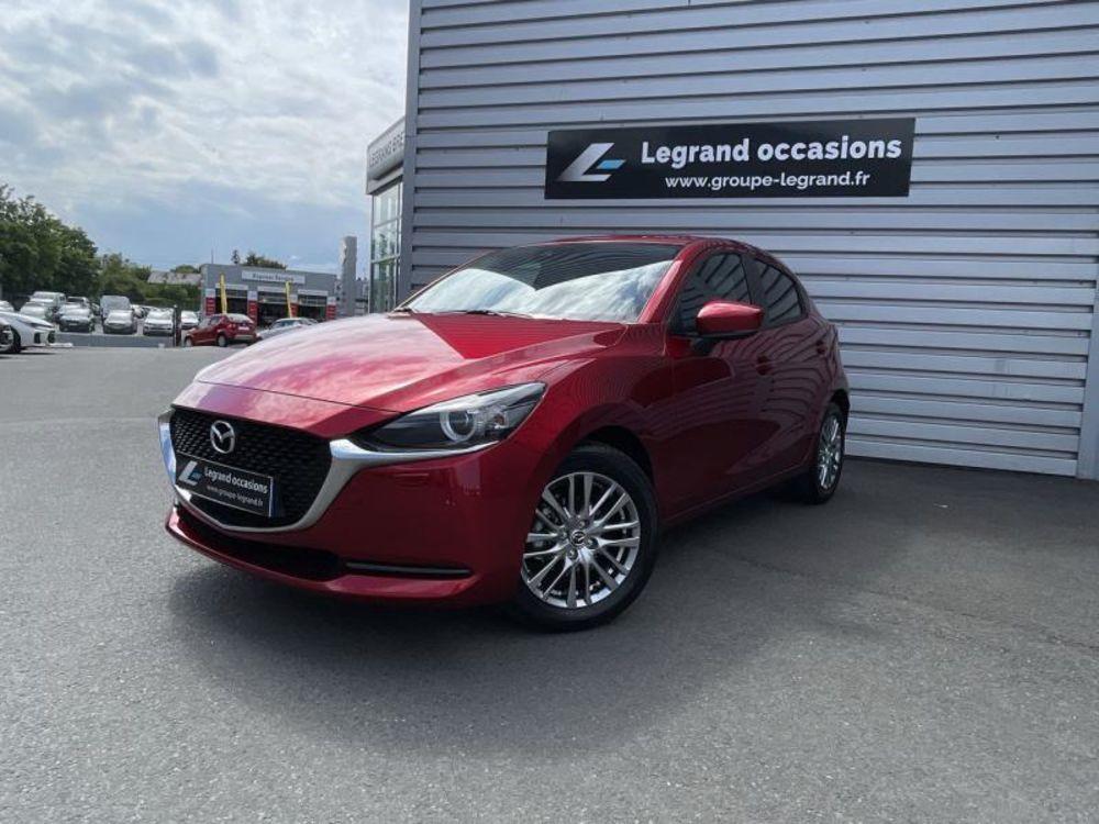 Mazda2 1.5 SKYACTIV-G M-Hybrid 90ch Signature 5cv 2021 occasion 22000 Saint-Brieuc