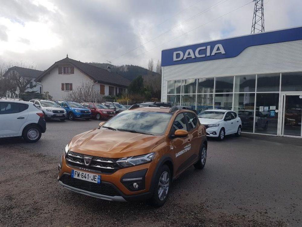 Sandero 1.0 TCe 90ch Stepway Confort 2021 occasion 88160 Le Thillot