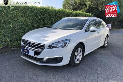 Peugeot 508 SW 1.6 BlueHDi 120ch Active S/S EAT6 GPS Attelage 2017 occasion Woippy 57140