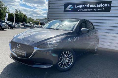 Mazda Mazda2 1.5 SKYACTIV-G M Hybrid 90ch Signature 5cv 2021 occasion Saint-Brieuc 22000
