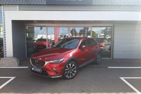 Mazda Cx-3 1.8 SKYACTIV-D 115ch Sélection Euro6d-T 2019 occasion Cesson-Sévigné 35510