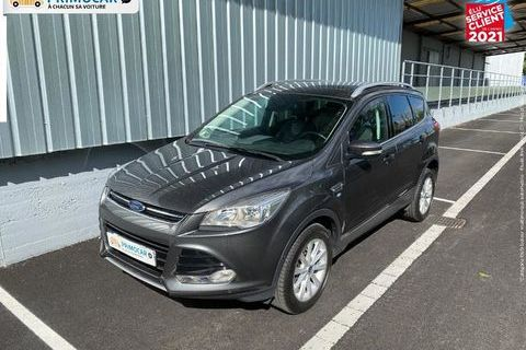 Ford Kuga 2.0 TDCi 150ch S/S Titanium 4x2 Touvrant pano GPS 2016 occasion Strasbourg 67200