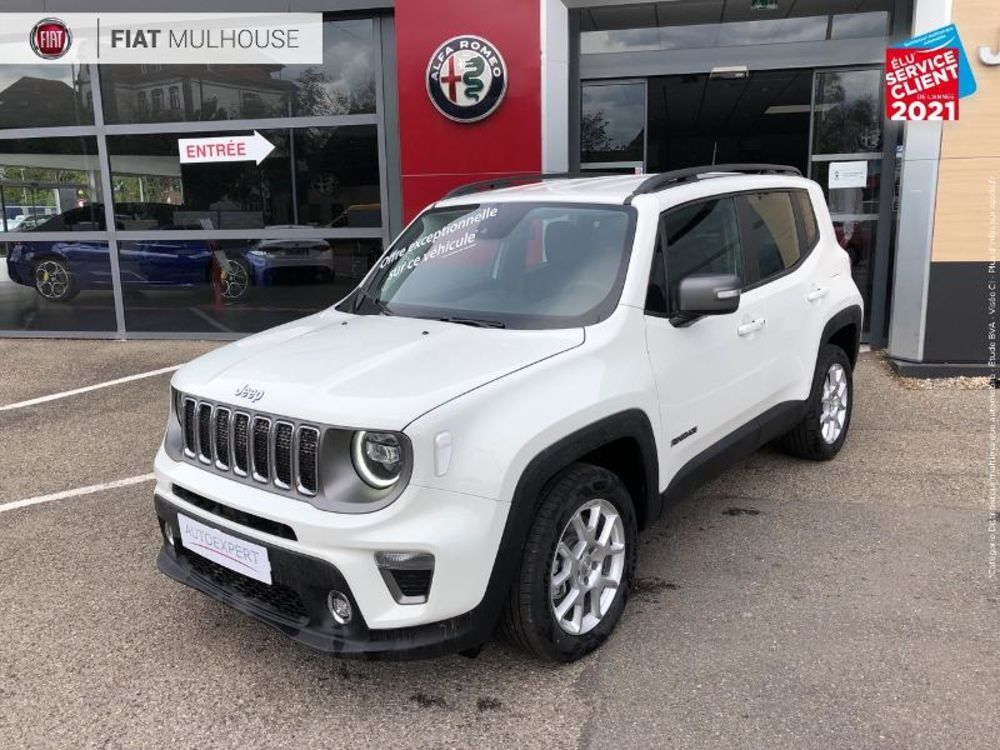 Renegade 1.3 GSE T4 190ch 4xe Limited AT6 2021 occasion 68110 Illzach