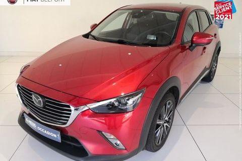 Mazda Cx-3 2.0 SKYACTIV-G 120 Exclusive Edition BVA GPS LED Sièges & Vo 2017 occasion Belfort 90000