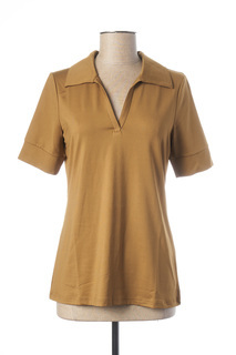 Polo manches longues femme Best Connections marron taille : 38 20 FR (FR)