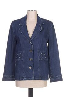 Veste en jean femme Quattro bleu taille : 38 33 FR (FR)