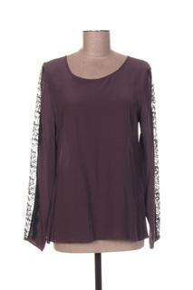 Blouse manches longues femme Mkt Studio violet taille : 40 7 FR (FR)
