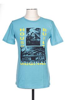 T-shirt manches courtes homme Sol's bleu taille : L 8 FR (FR)