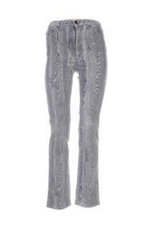 Jeans coupe droite femme Roberto Cavalli gris taille : W26 44 FR (FR)