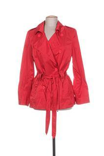 Imperméable/Trench femme Nathalie Chaize rouge taille : 44 64 FR (FR)