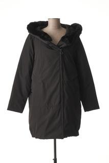 Manteau long femme Concept K noir taille : 48 109 FR (FR)
