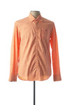 Chemise manches longues homme Camberabero orange taille : XXL 34 FR (FR)
