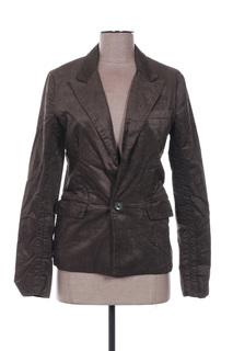 Veste chic / Blazer femme April 77 marron taille : 38 30 FR (FR)
