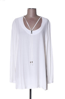 Blouse manches longues femme Chalou blanc taille : 42 36 FR (FR)