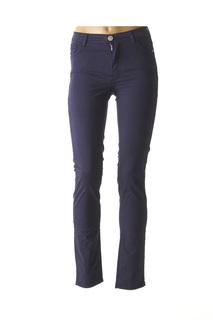 Pantalon casual femme Trussardi Jeans bleu taille : W24 62 FR (FR)