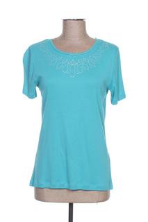 T-shirt manches courtes femme Diane Laury bleu taille : 38 8 FR (FR)