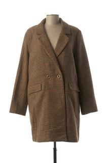 Manteau long femme Cks marron taille : 42 65 FR (FR)