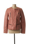Veste en cuir femme Rose Garden rose taille : 36 174 FR (FR)