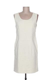 Robe mi-longue femme Mensi Collezione beige taille : 38 27 FR (FR)