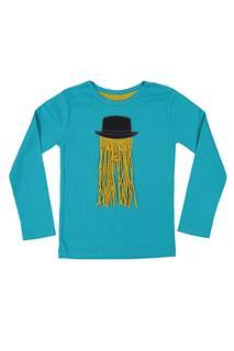 T-shirt manches longues enfant Milk On The Rocks bleu taille : 2 A 11 FR (FR)
