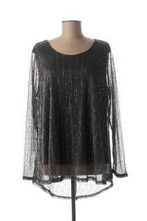 T-shirt manches longues femme Veti Style noir taille : 44 19 FR (FR)