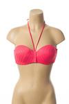 Haut de maillot de bain femme Lou rose taille : 100C 22 FR (FR)