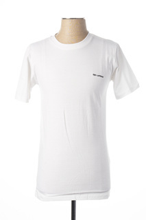 T-shirt manches courtes homme Ted Lapidus blanc taille : S 17 FR (FR)