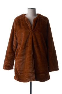Manteau long femme Indie+Moi marron taille : 36 23 FR (FR)