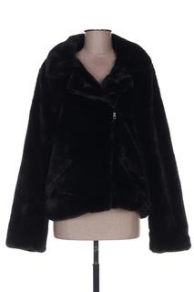 Veste casual femme Mon Beau Vetement noir taille : 40 54 FR (FR)