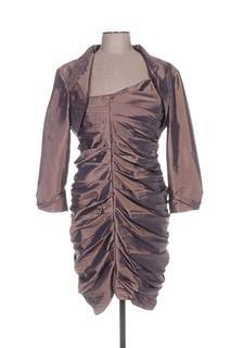 Veste/robe femme Fashion New York marron taille : 48 52 FR (FR)